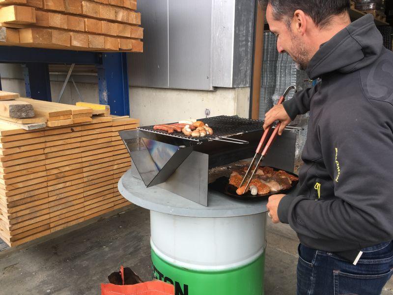 Un BBQ avec le Commerce de fer fribourgeois